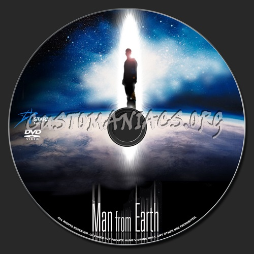 The Man From Earth dvd label