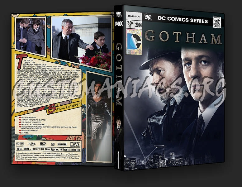 Gotham - Season 1 dvd cover