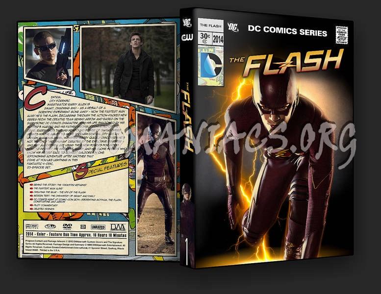 The Flash - Season 1 dvd cover