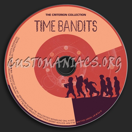 037 - Time Bandits dvd label