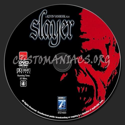 Slayer dvd label