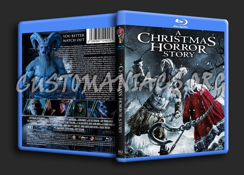 A Christmas Horror Story.A Christmas Horror Story Blu Ray Cover Dvd Covers Labels