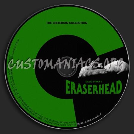 725 - Eraserhead dvd label