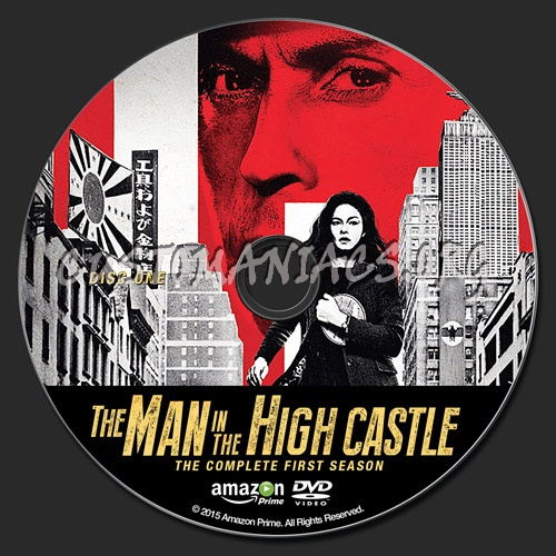 The Man in The High Castle - Season One dvd label