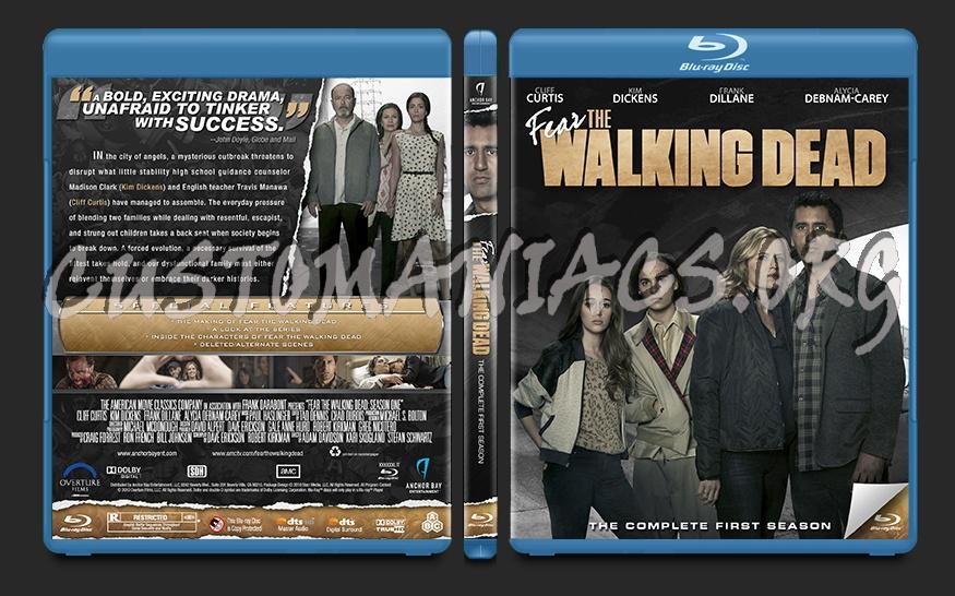 Fear the Walking Dead Season 1 blu-ray cover - DVD Covers
