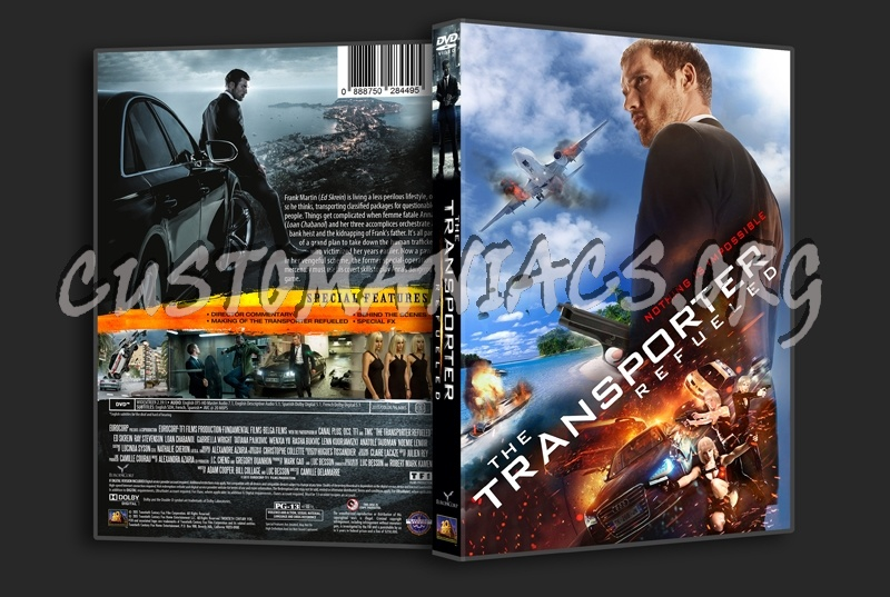 The Transporter Refueled dvd cover - DVD Covers & Labels ...