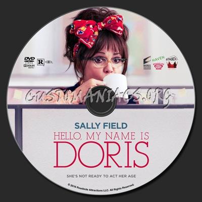Hello, My Name Is Doris dvd label