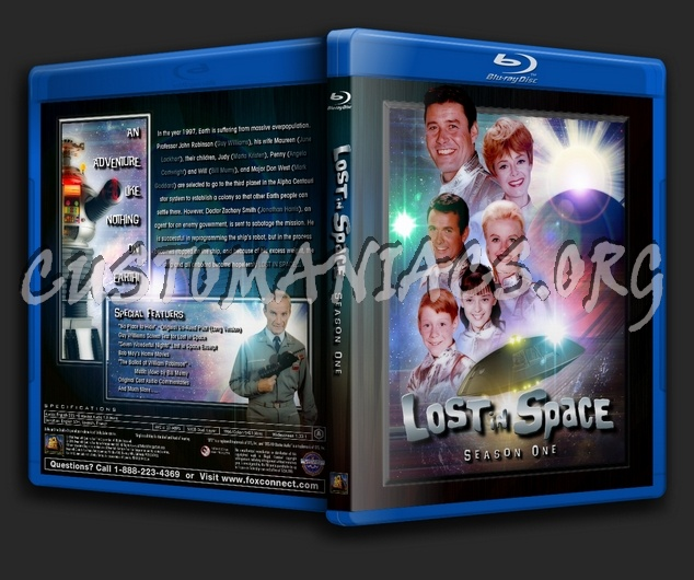 Lost in Space (1965) - Season 1 blu-ray cover