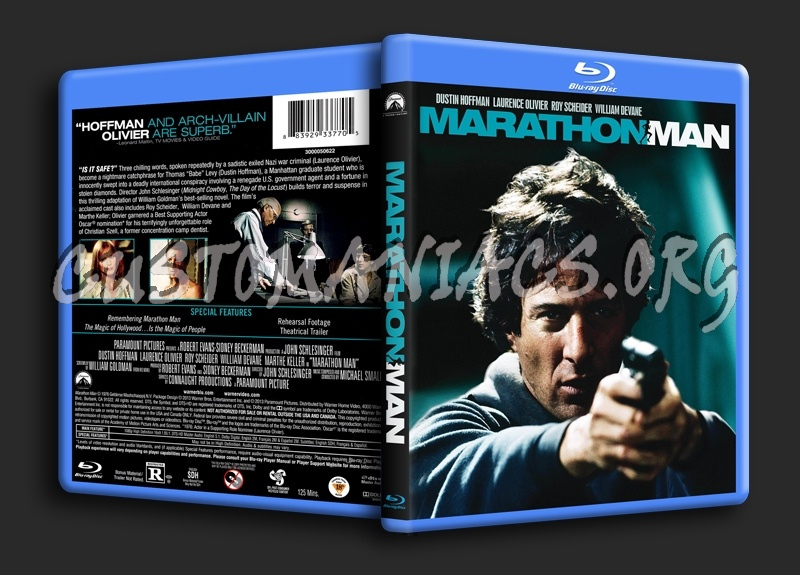 Marathon Man blu-ray cover