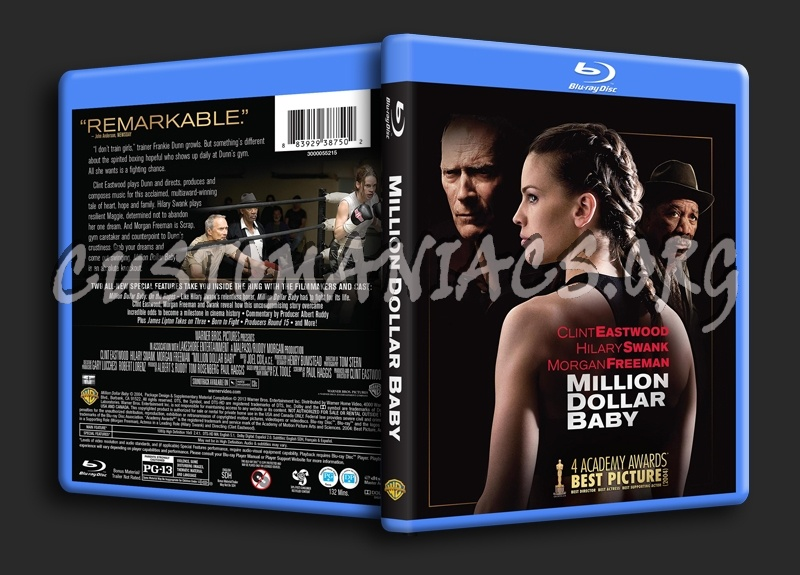 Million Dollar Baby blu-ray cover
