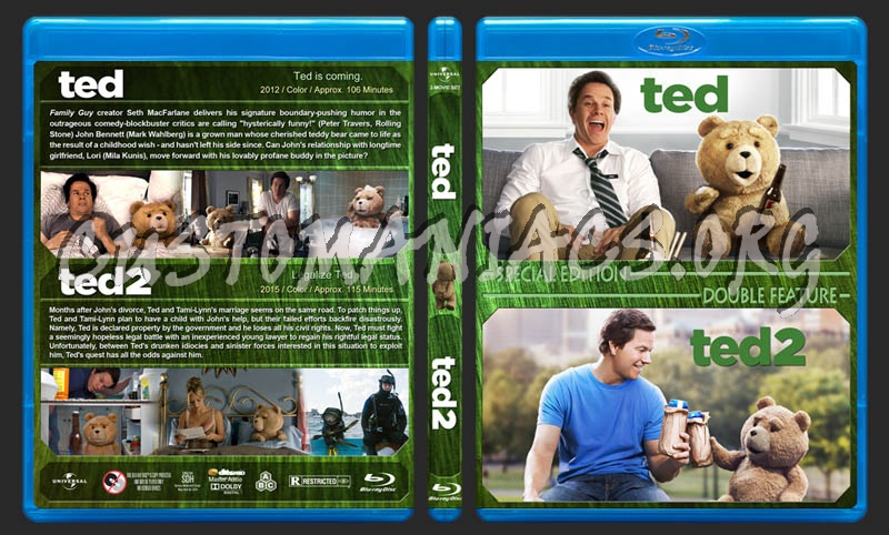 Ted Double Feature blu-ray cover