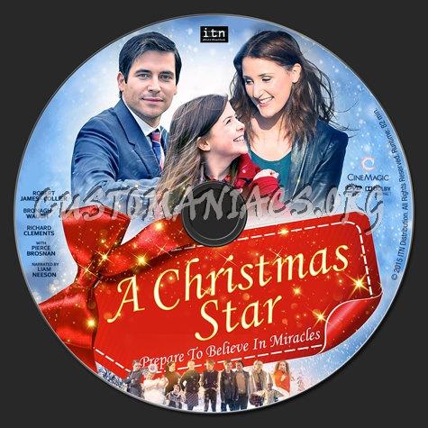 a christmas star dvd label - A Christmas Star Movie