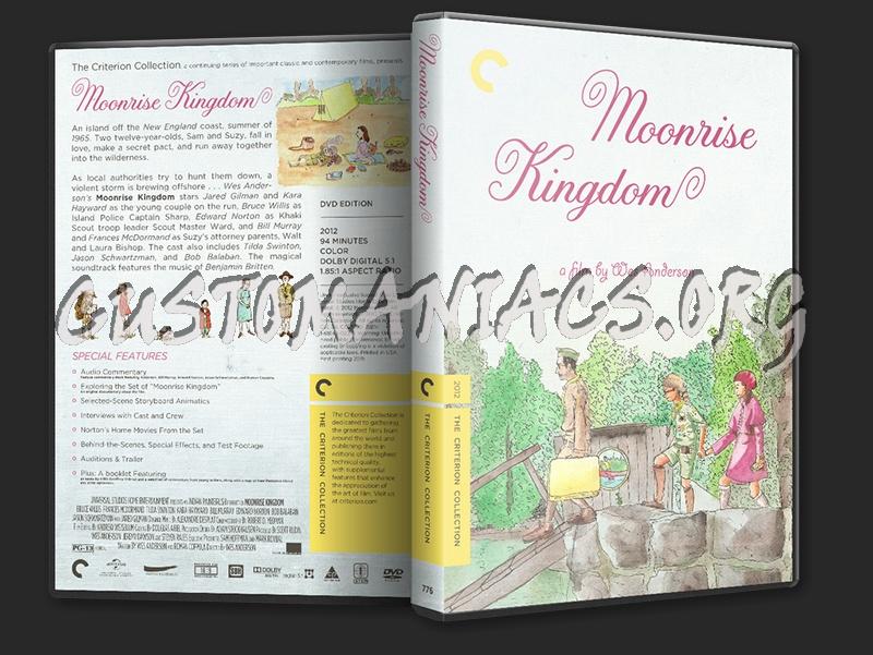 776 - Moonrise Kingdom dvd cover