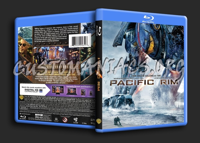 Pacific Rim blu-ray cover - DVD Covers & Labels by ... Pacific Rim Blu Ray Cover