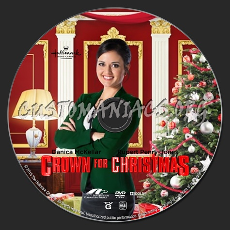 A Crown For Christmas.Crown For Christmas Dvd Label Dvd Covers Labels By