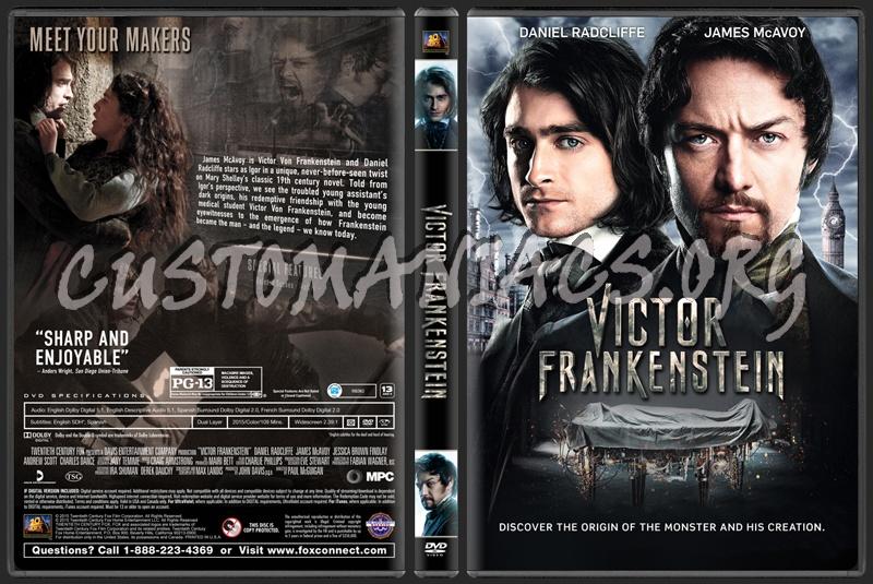 Victor Frankenstein dvd cover