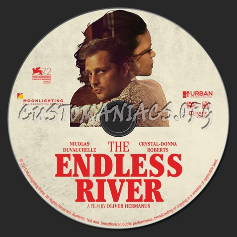 The Endless River dvd label