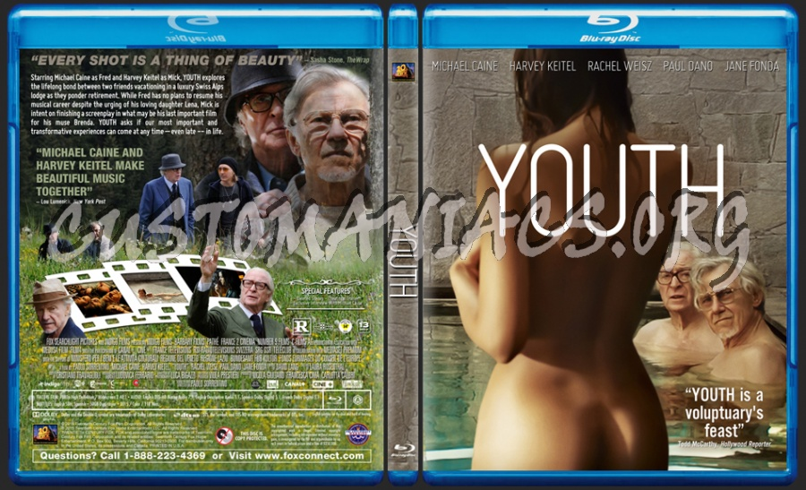 Youth blu-ray cover