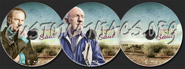 Better Call Saul Season One blu-ray label