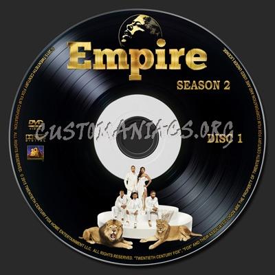 Empire - Season 02 dvd label