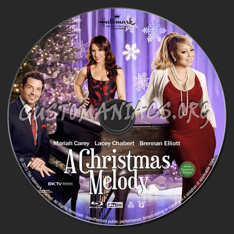 A Christmas Melody.A Christmas Melody Blu Ray Label Dvd Covers Labels By