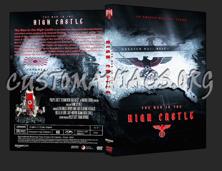 The Man in the High Castle, Tv series 2015 dvd cover
