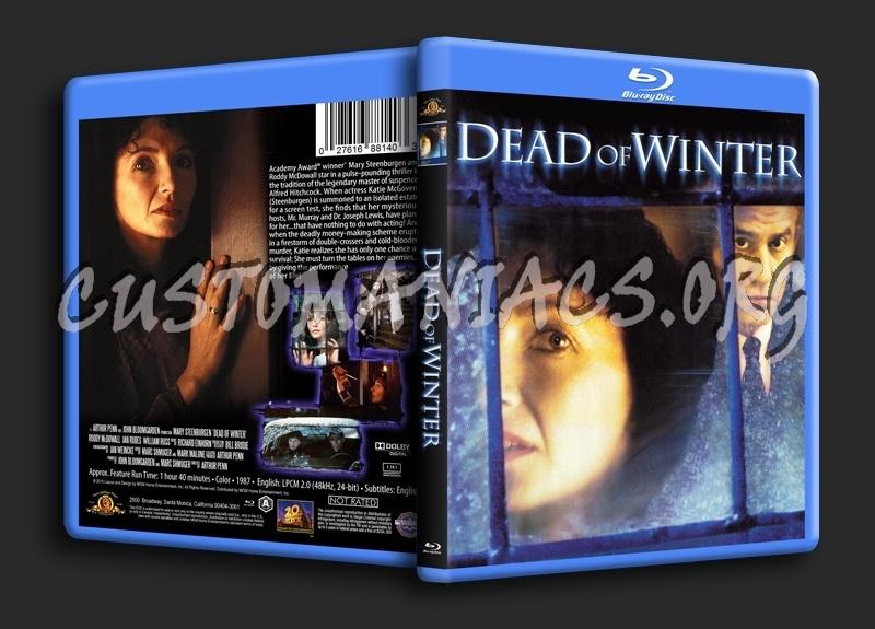 Dead of Winter (1987) blu-ray cover
