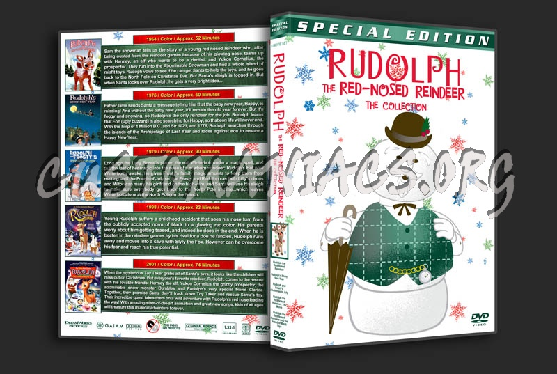 Rudolph And Frostys Christmas In July Dvd.Dvd Covers Labels By Customaniacs View Single Post