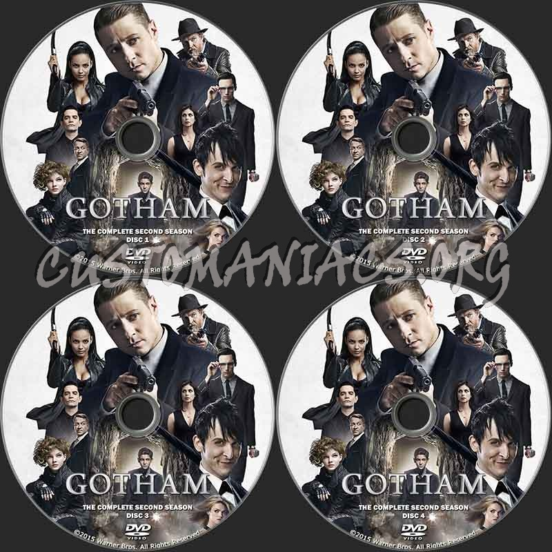 Gotham Season 2 dvd label