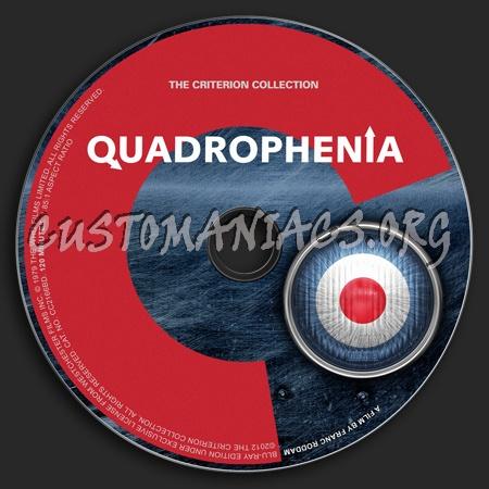 624 - Quadrophenia dvd label