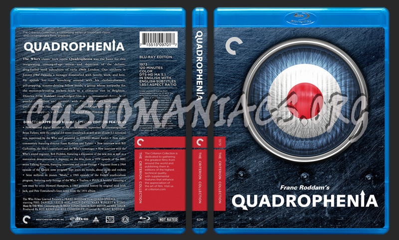 624 - Quadrophenia blu-ray cover