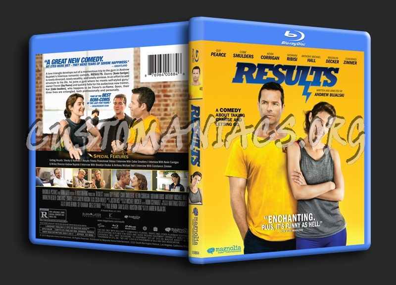 Results blu-ray cover