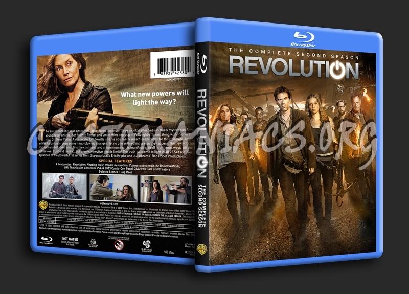 Revolution Season 2 blu-ray cover