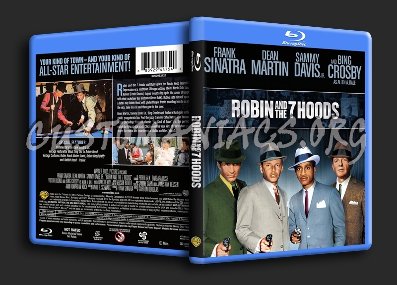Robin and the 7 Hoods blu-ray cover
