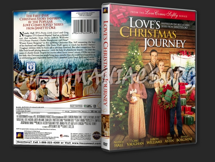 Loves Christmas Journey.Love S Christmas Journey Dvd Cover Dvd Covers Labels By