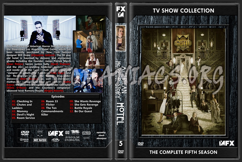 American Horror Story Season 5 dvd cover - DVD Covers & Labels by