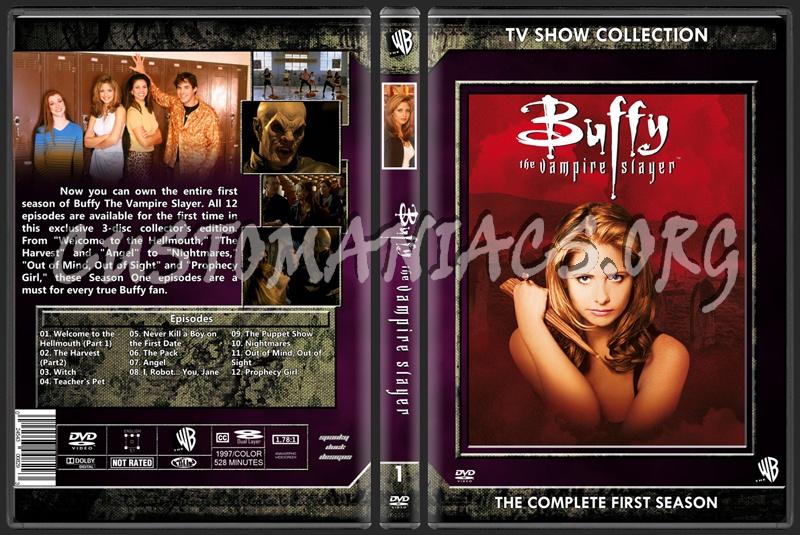 Buffy The Vampire Slayer Season 01 dvd cover