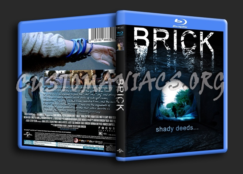 Brick blu-ray cover