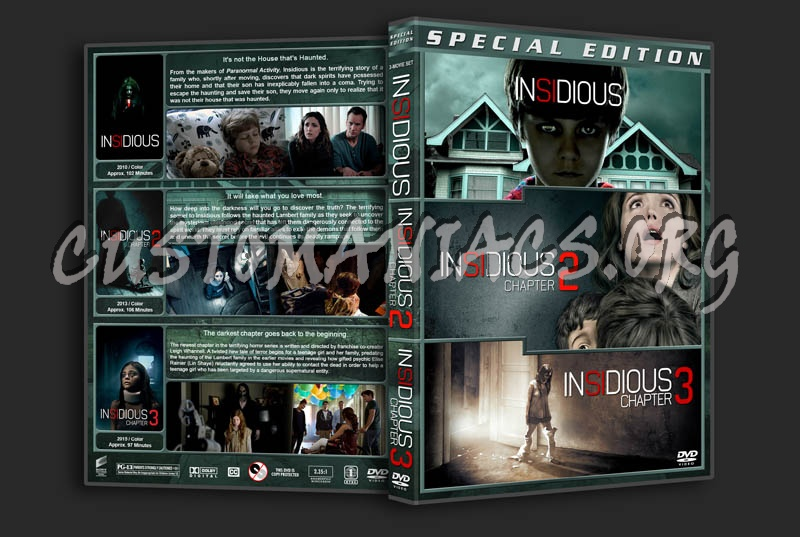 Insidious Triple Feature dvd cover