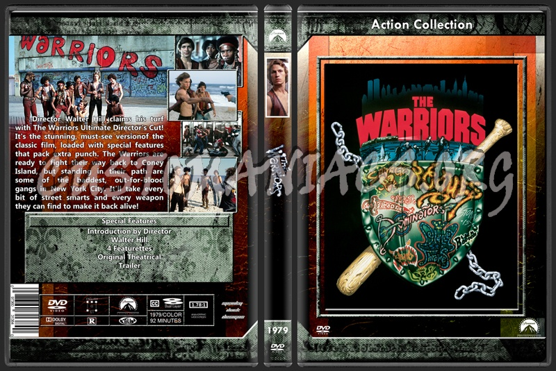 The Warriors dvd cover