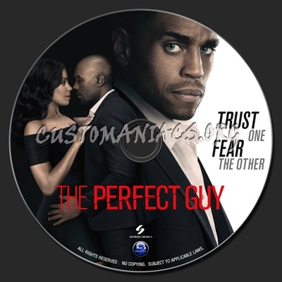 Perfect Guy, The blu-ray label