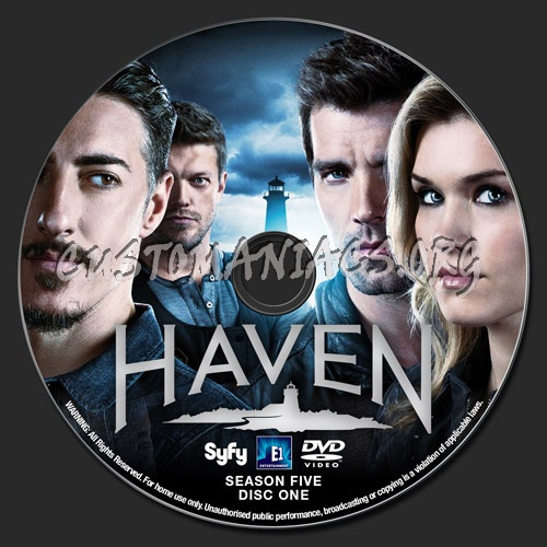 Haven Season 5 dvd label