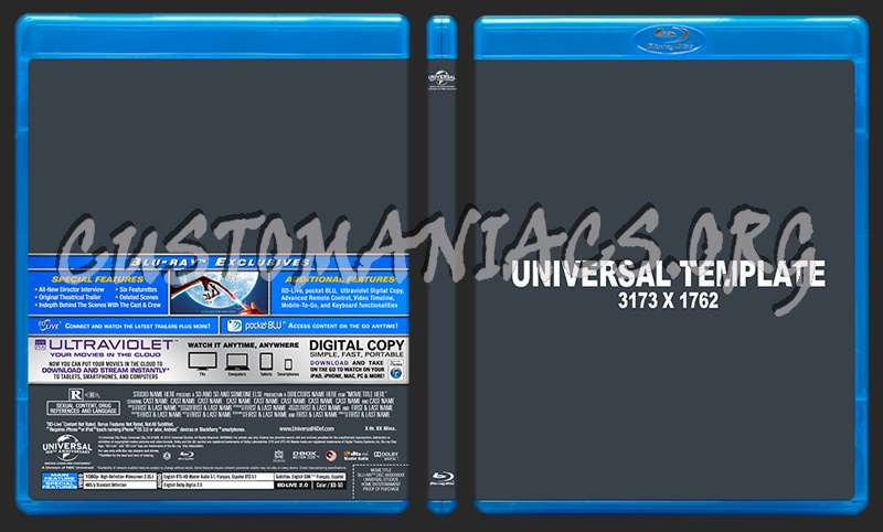 php forum templates free download - universal 2012 bd template dvd label dvd covers labels