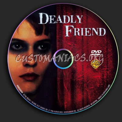Deadly Friend dvd label