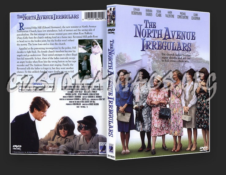The North Avenue Irregulars dvd cover