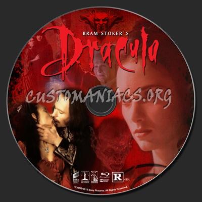 Bram Stoker\'s Dracula (1992) blu-ray label
