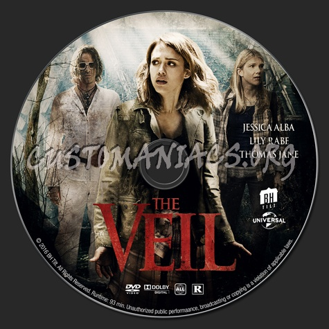 The Veil dvd label