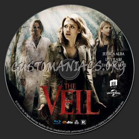 The Veil blu-ray label