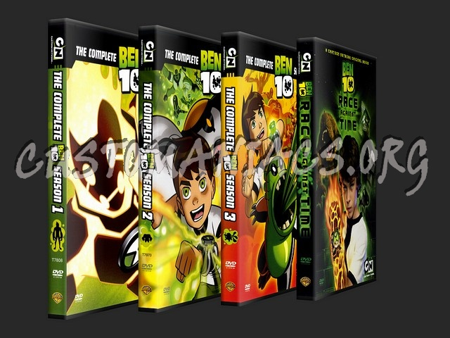 Ben 10 Collection dvd cover - DVD Covers & Labels by Customaniacs