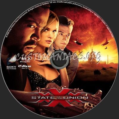 xXx: State of the Union blu-ray label